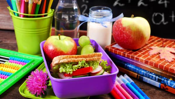 Una merenda sana è fondamentale per i bambini