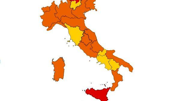 Zona arancione: le regole in vigore da oggi domenica 24 gennaio e l'autocertificazione