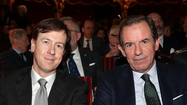 Il Presidente Giovanni Gorno Tempini e l'Amministratore Delegato Fabrizio Palermo