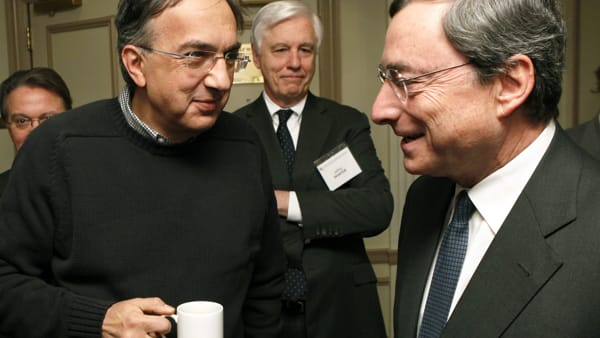 marchionne draghi