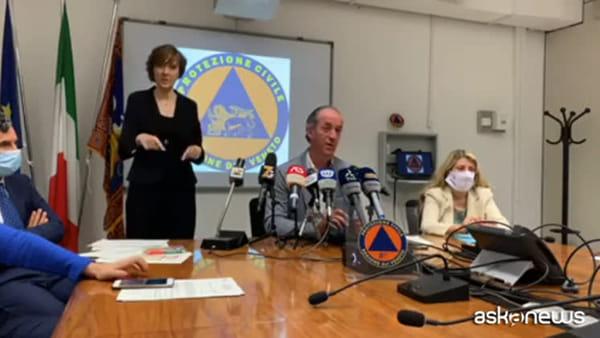 Zaia: in Veneto non è ripresa onda contagi, no altre restrizioni