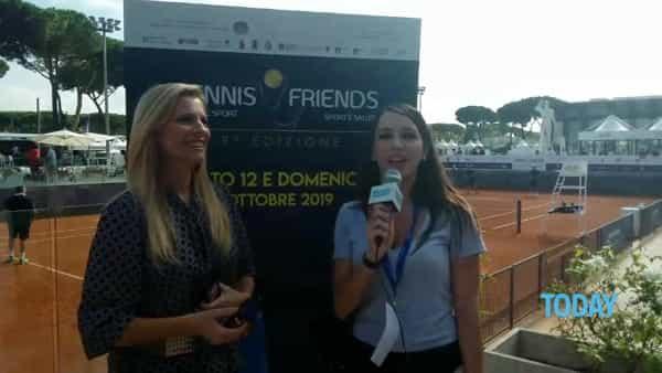 """Laura Freddi mamma innamorata a 'Tennis & Friends': """"Oggi sono tutta per Ginevra"""" (INTERVISTA)"""