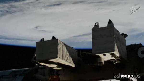 Le spettacolari immagini dell'uragano Dorian visto dallo Spazio