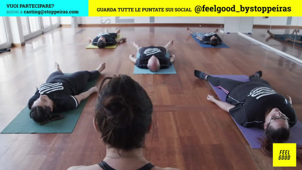 """Feel Good"" con Edoardo Stoppa e Juliana Moreira: puntata 14"