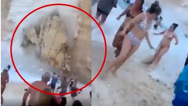 Frana la spiaggia del Relitto: panico e feriti tra i turisti a Zante