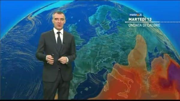 Ondata di calore: le previsioni meteo per le prossime ore