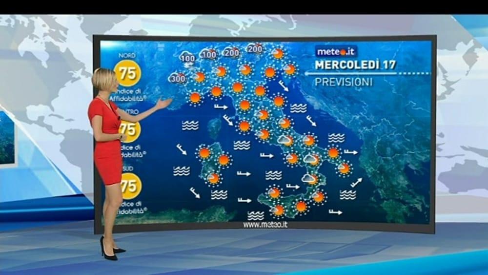 Meteo Oggi Mercoledì 17 Gennaio Previsioni Meteo