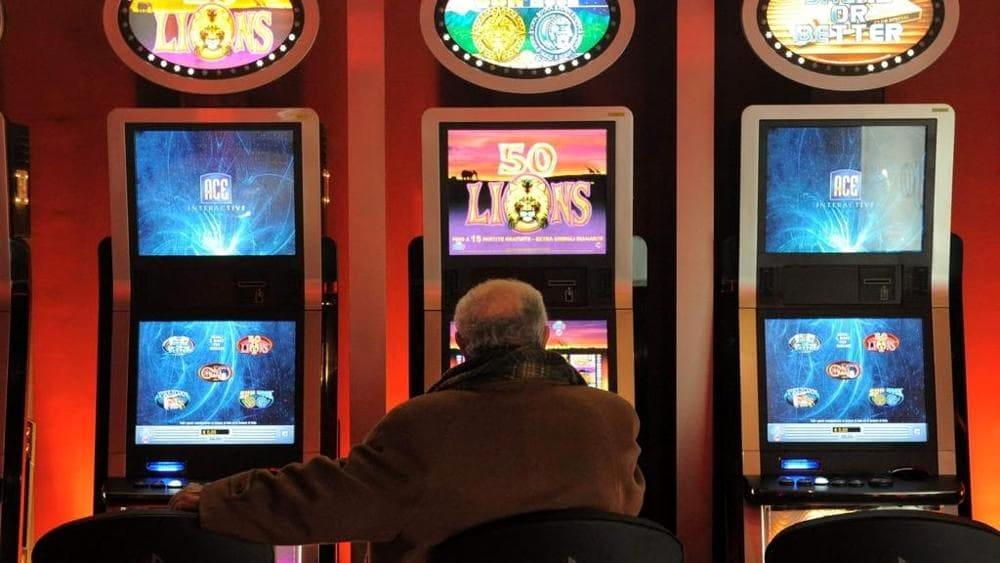 Slot machine nei bar