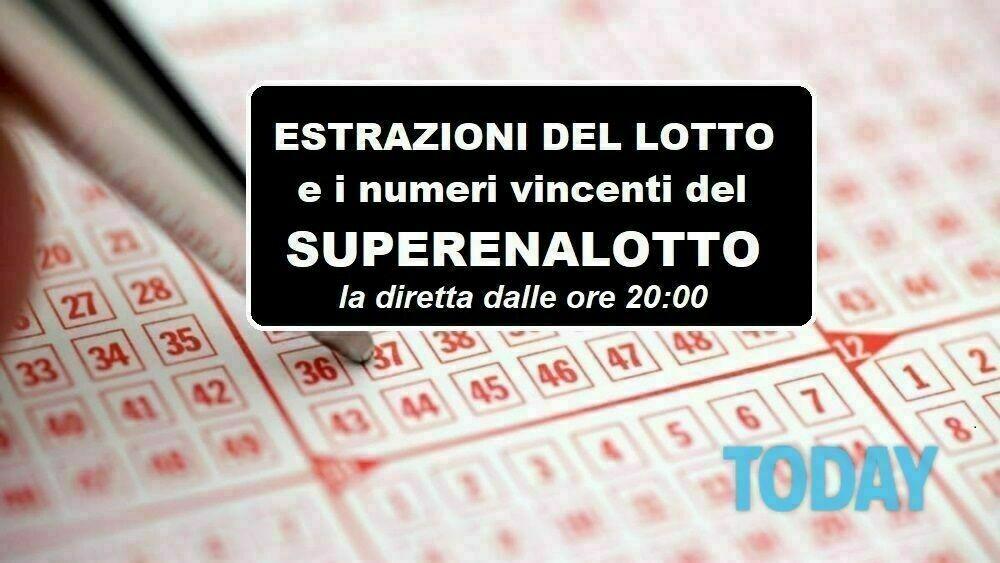 Calendario Estrazioni Superenalotto Dicembre 2021 Estrazioni Lotto oggi e numeri SuperEnalotto di giovedì 17