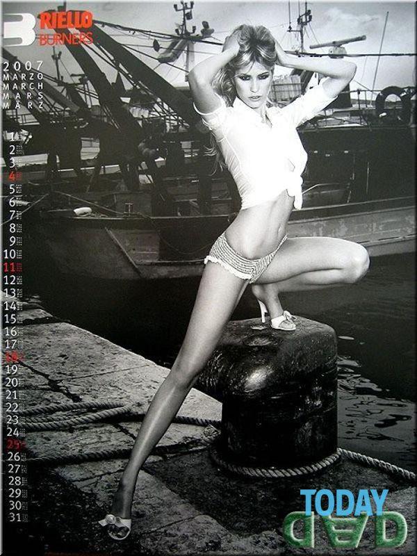 Elena Santarelli Calendario Nuda.Elena Santarelli Calendario