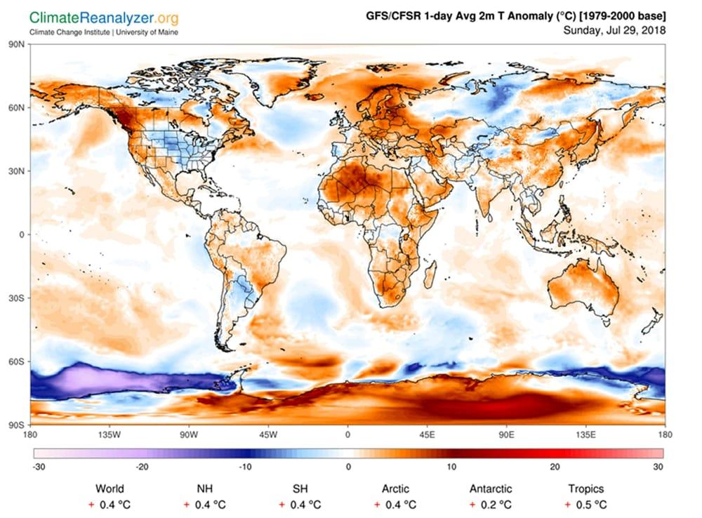 Cartina Clima Mondo.Clima L Ultimatum Della Terra Il Rapporto Ipcc Riscaldamento Globale Sulla Soglia Della Catastrofe