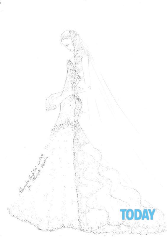 Elisabetta Da Sposa Canalis L'abito Di 0OXnPw8k