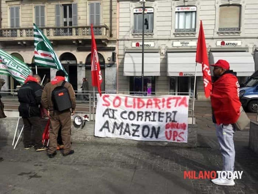 Sciopero Amazon 26 Febbraio 2019: perché protestano i driver | Consegne  bloccate a Milano e in Lombardia