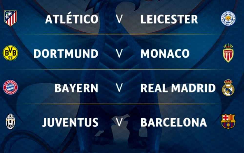 juventus barcellona quarti finale champions league 2017 date orari diretta tv juventus barcellona quarti finale