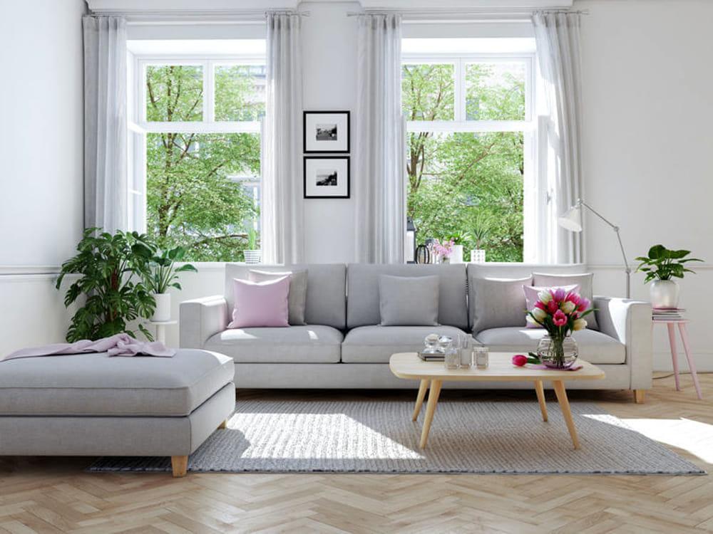 Come rinnovare il soggiorno con meno di 150 euro