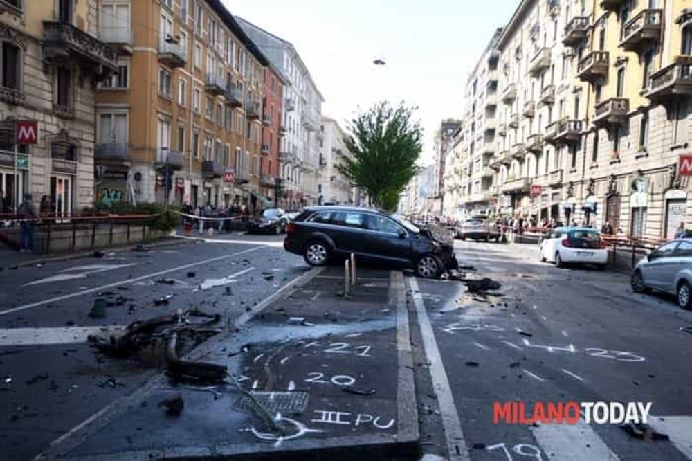 Incidente mortale a milano in viale monza - Arredo bagno viale monza milano ...