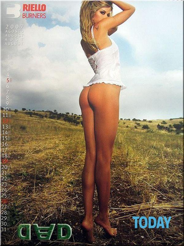 Elena Santarelli Calendario.Elena Santarelli Calendario