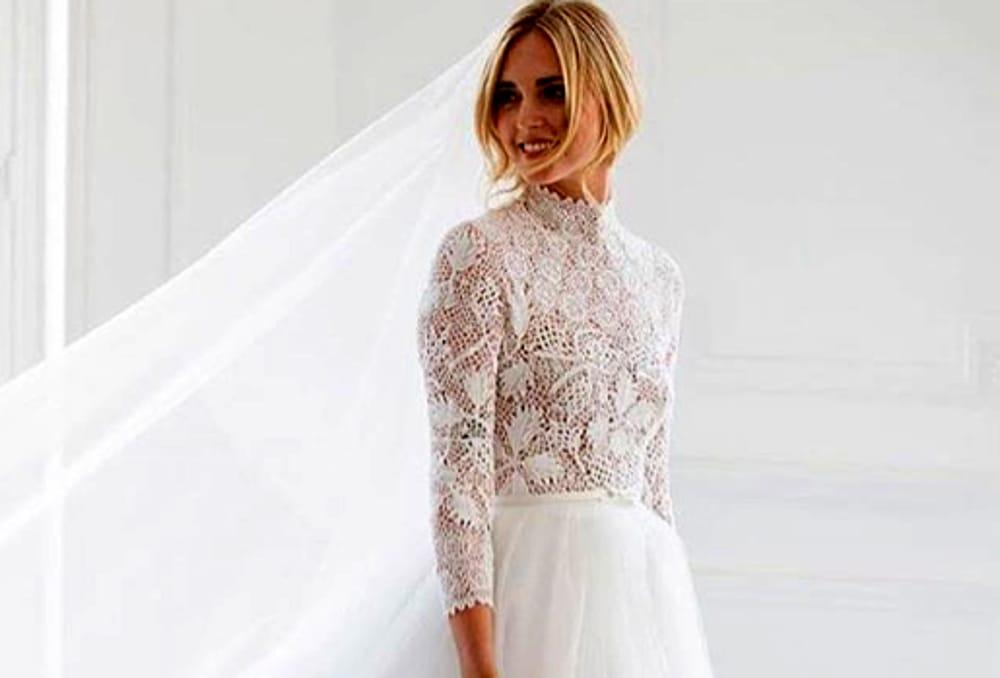 Chiara Ferragni: ecco il vestito del matrimonio