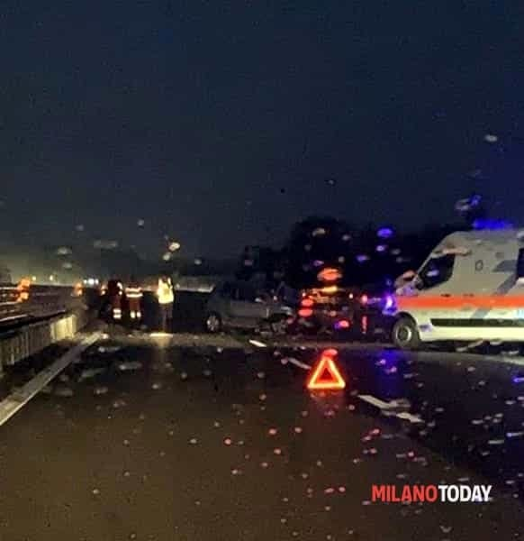 Incidente sull'A7, un morto. Foto Tony L (1)