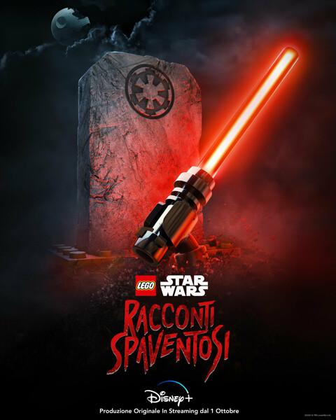 """Lego e Star Wars ancora insieme per """"Racconti spaventosi"""", lo speciale di Halloween su Disney+"""