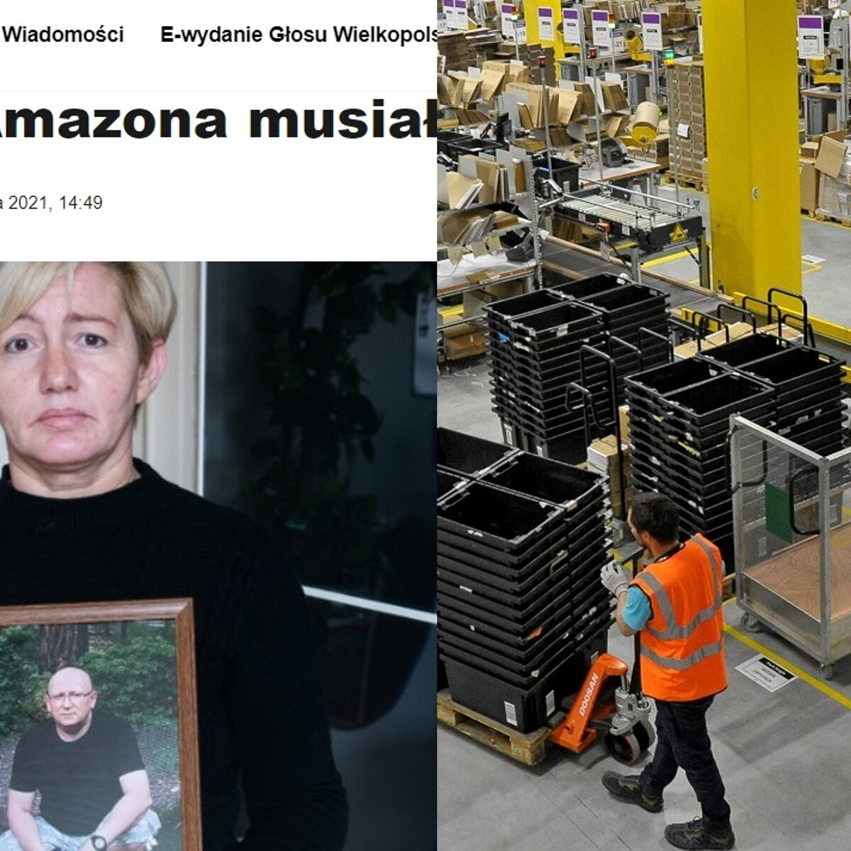 I lavoratori morti tra i pacchi di Amazon