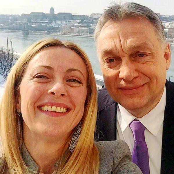"""Meloni: """"La legge anti-Lgbt di Orban? Non la conosco, ma per lui le porte sono aperte"""""""