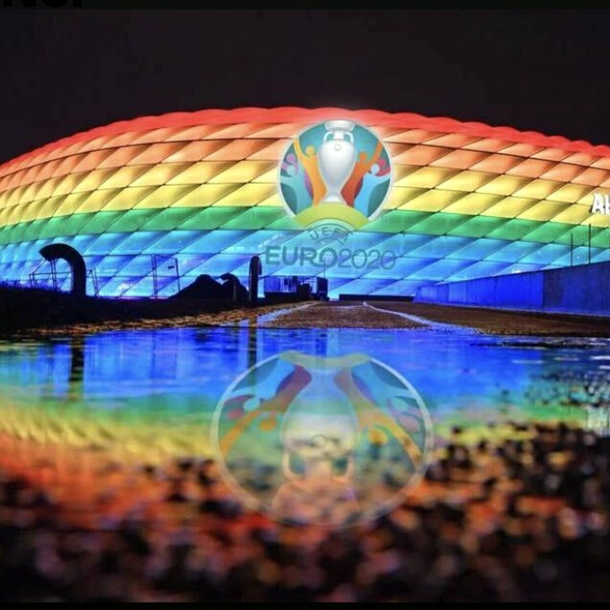 Perché l'Uefa ha un logo Lgbt+, ma non vuole lo stadio arcobaleno
