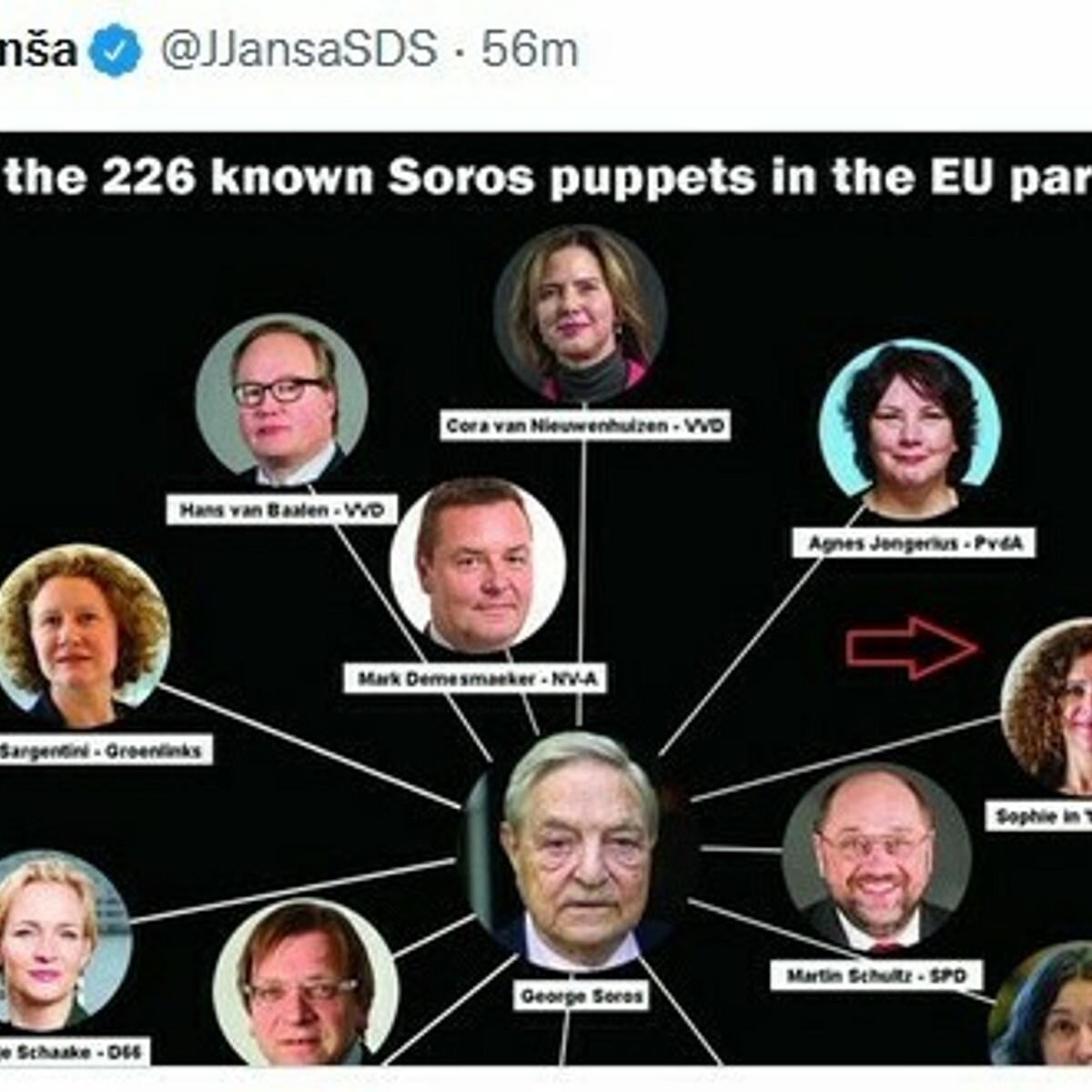 """""""Deputati burattini di Soros"""", ma uno di loro è morto: il premier sloveno costretto a scusarsi"""