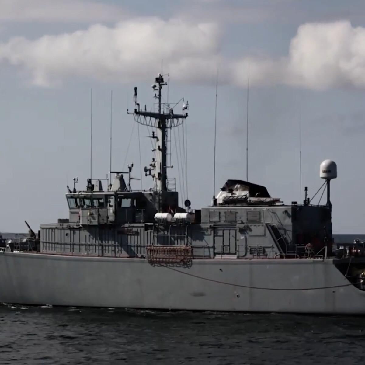 A bordo della nave dei cacciatori di mine che cercano le 30mila bombe inesplose nel Mar Baltico