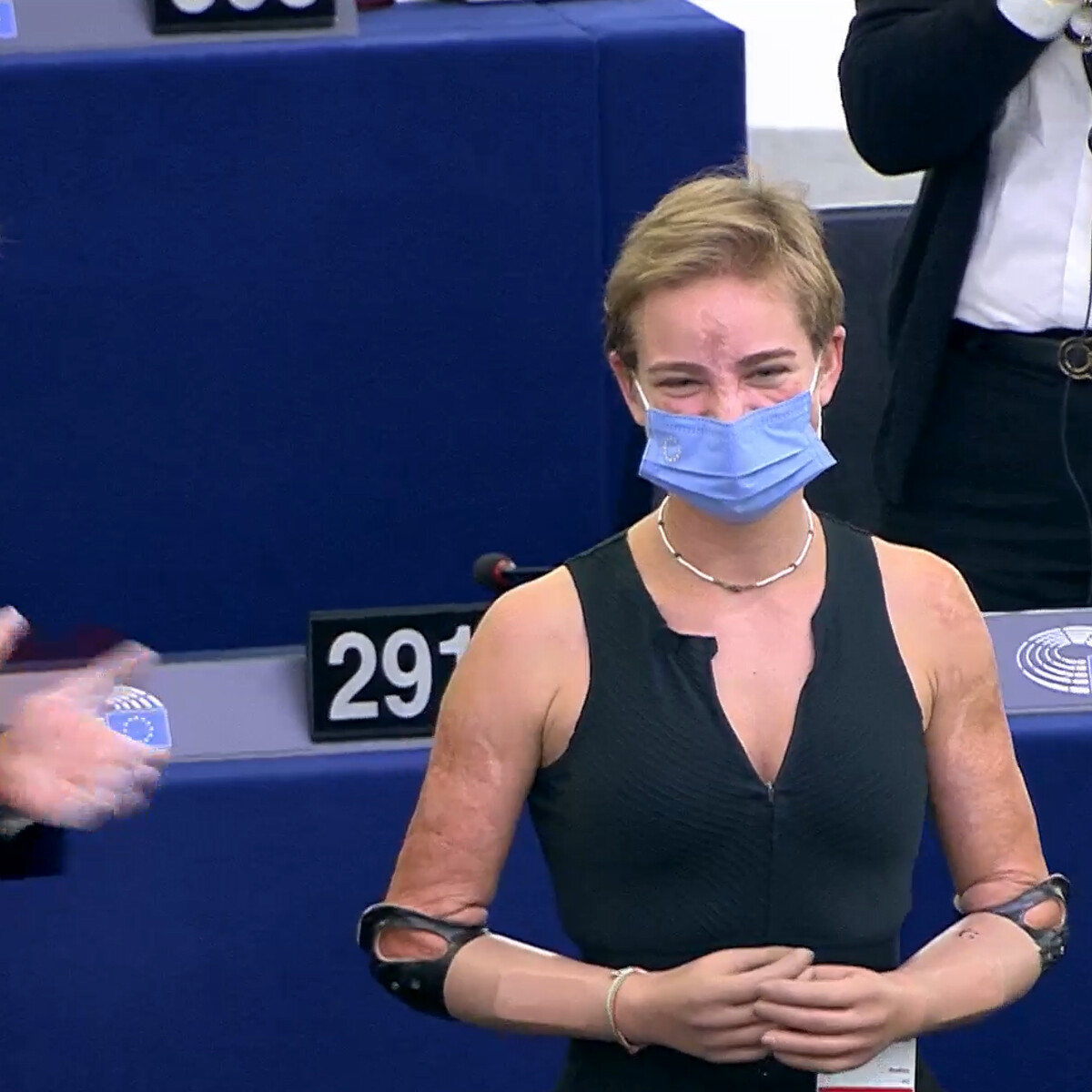 #EURecap, l'aumento del costo dell'energia e il tributo di Strasburgo a Bebe Vio
