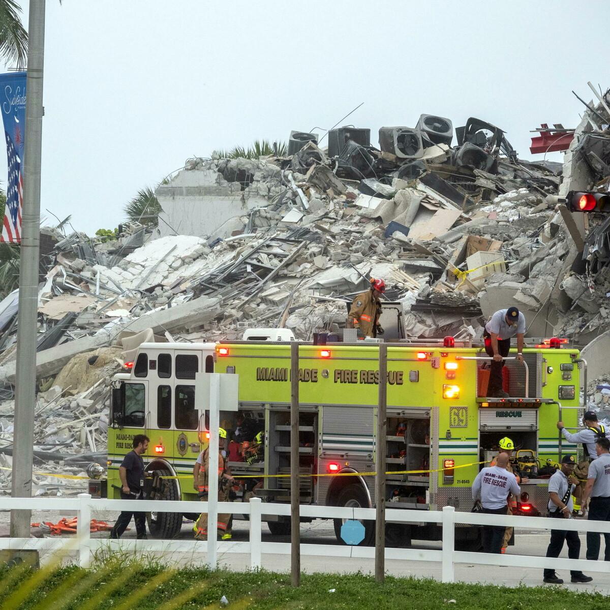 Palazzo di 12 piani crollato, incubo a Miami: il bilancio delle vittime rischia di essere pesantissimo