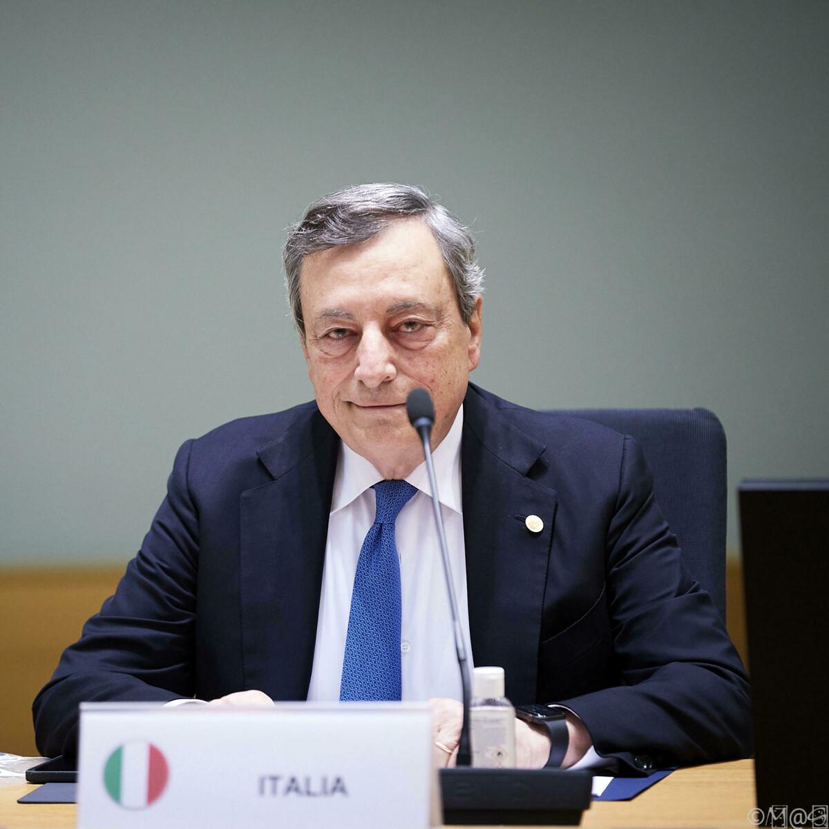 """Draghi cancella Quota 100: """"Non verrà rinnovata"""""""