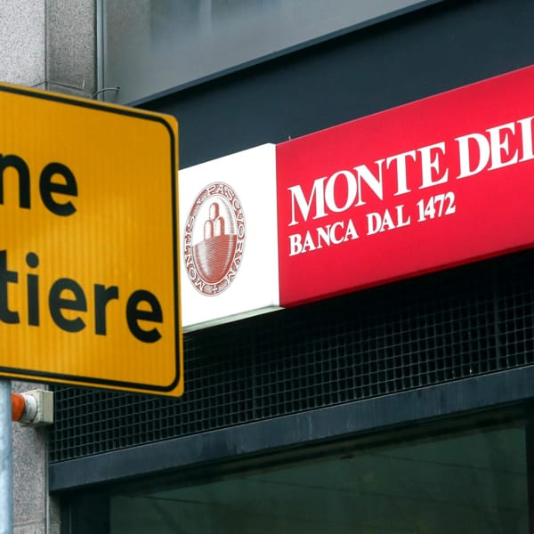 Banche da paura: qual è il nuovo problema con il Monte dei Paschi di Siena