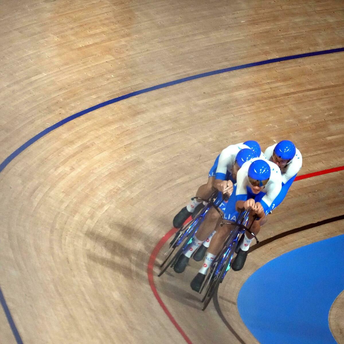 Record del mondo per gli azzurri nel ciclismo: la spedizione a Tokyo 2020 è già leggenda