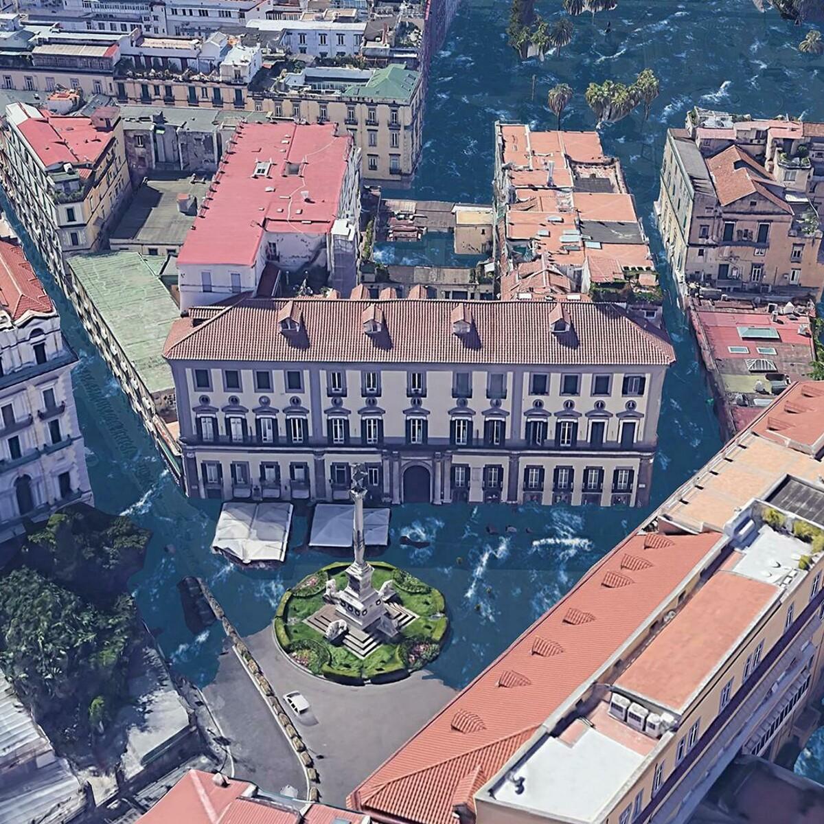 Come saranno Napoli e Catania se non si ferma il riscaldamento globale