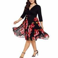 promo code 1ece4 4666d Vestiti curvy | abiti per donne formose | Amazon