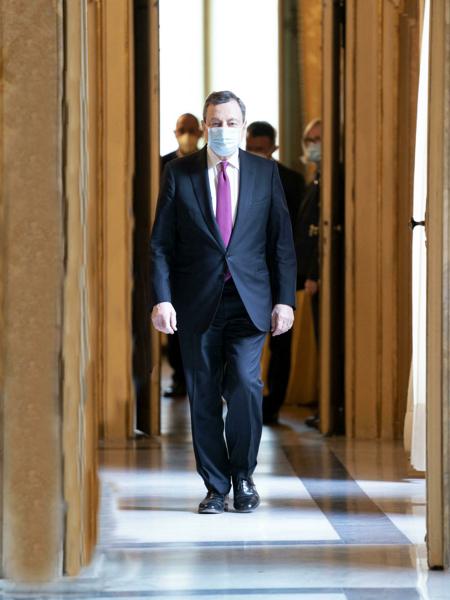 Redditi ministri: Mario Draghi premier senza compenso